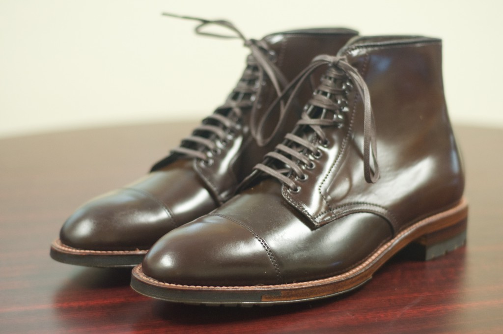Alden Cigar Cap Toe Boot 3