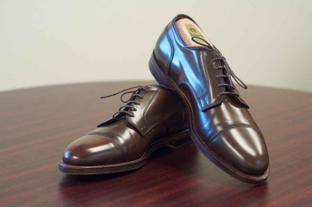 Alden Cigar CapToe Blutcher - 4