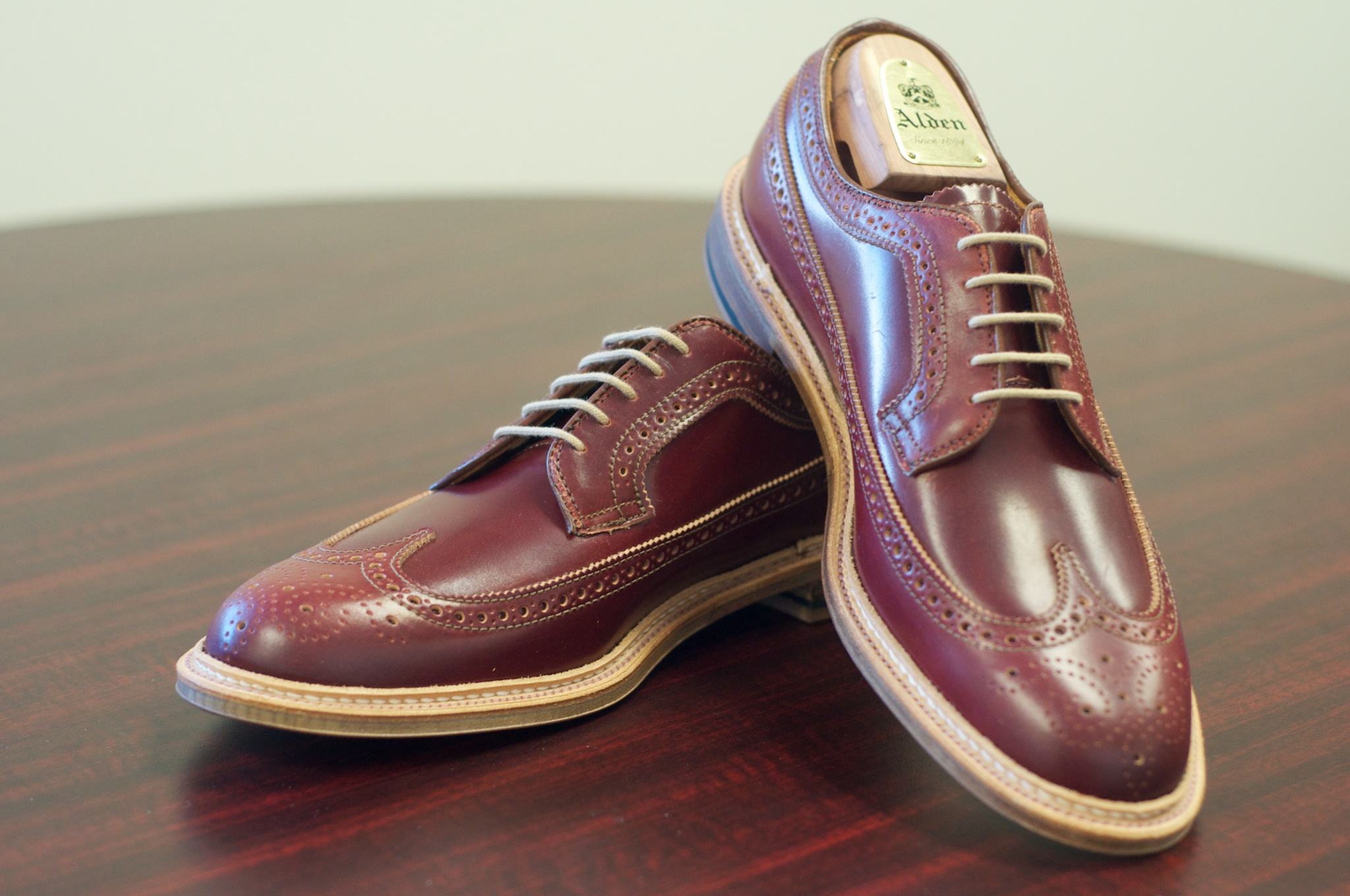 Special shell cordovan alden of san diego for The alden
