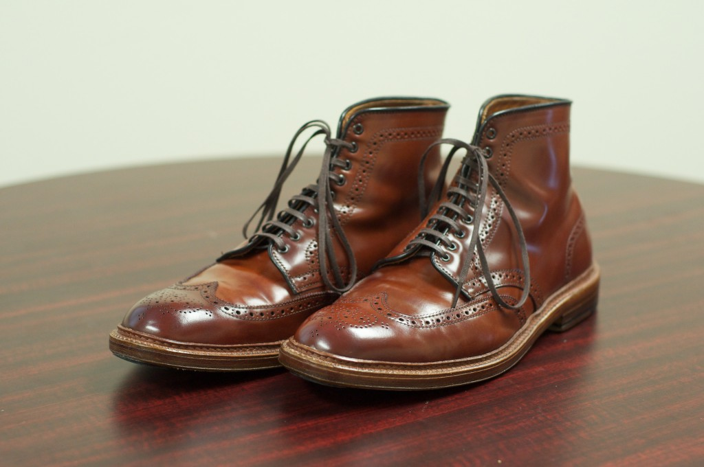 Alden Color 4 WT Boots - 5