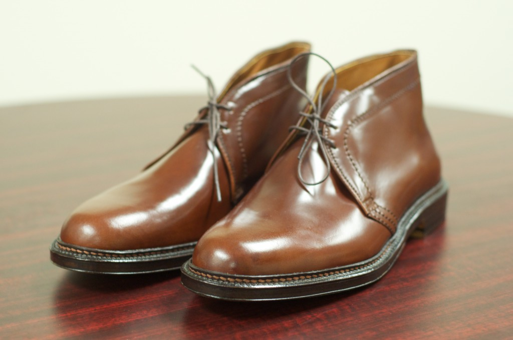 Ravello shell cordovan alden of san diego for The alden