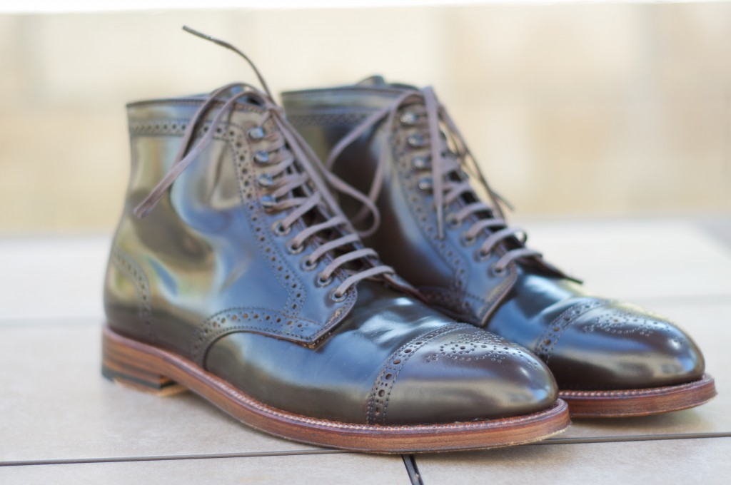 Alden Cigar Alt Wien Boots - For Sale - 1