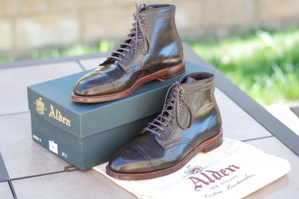 Alden Cigar Alt Wien Boots - For Sale - 10