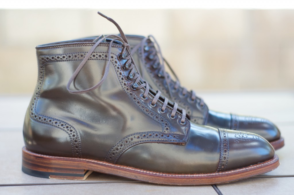 Alden Cigar Alt Wien Boots - For Sale - 3