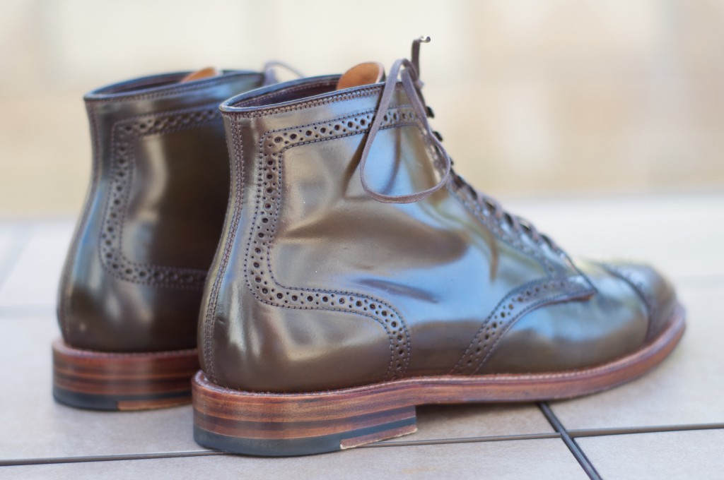 Alden Cigar Alt Wien Boots - For Sale - 4