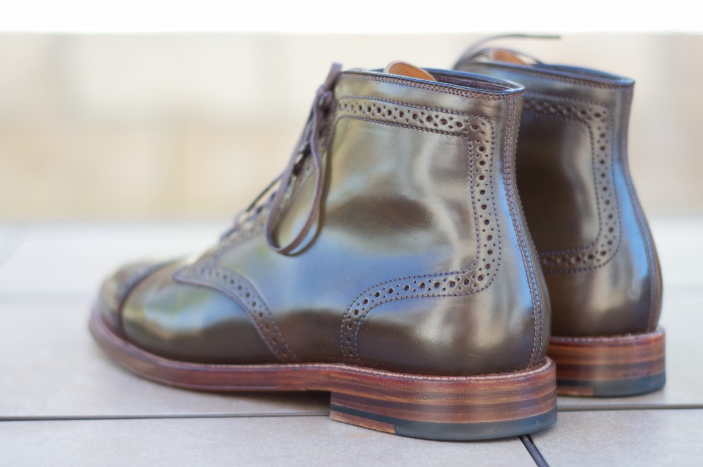 Alden Cigar Alt Wien Boots - For Sale - 5