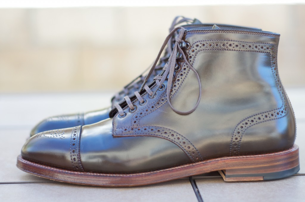 Alden Cigar Alt Wien Boots - For Sale - 6
