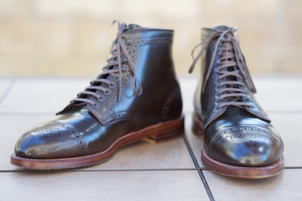 Alden Cigar Alt Wien Boots - For Sale - 7