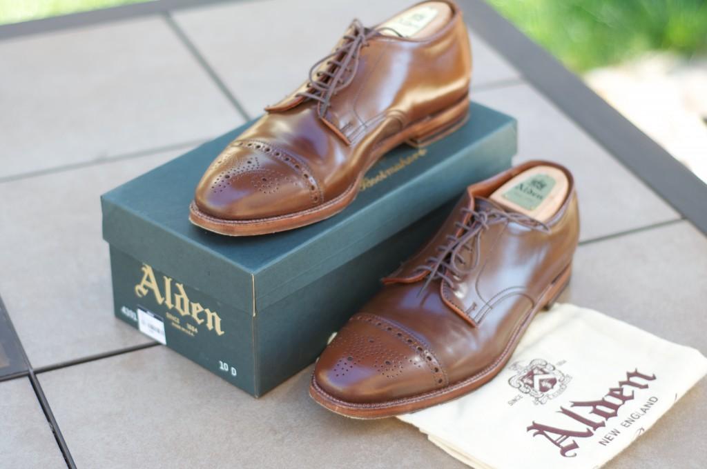 Alden Ravello Medallion Cap Toe Bluchers - For Sale - 12
