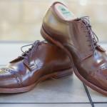 Alden Ravello Medallion Cap Toe Bluchers - For Sale - 9