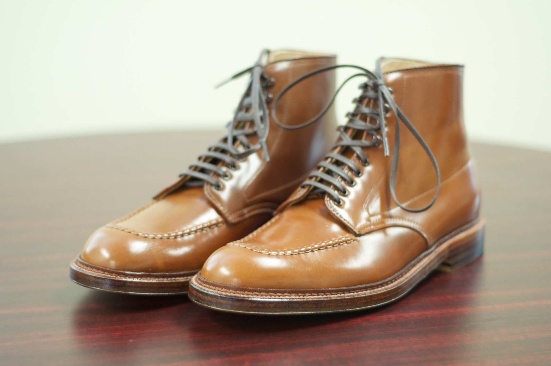 What Is Leather Made Of >> Whiskey Shell Cordovan – Alden of San Diego