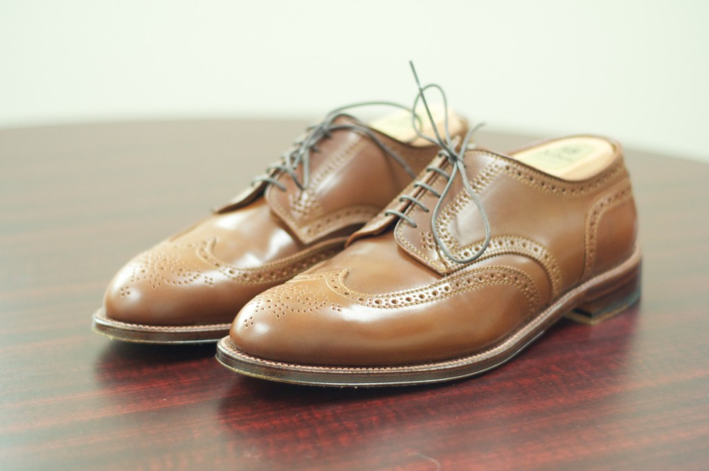 Alden Whiskey Shortwing Blucher - For Sale - 1
