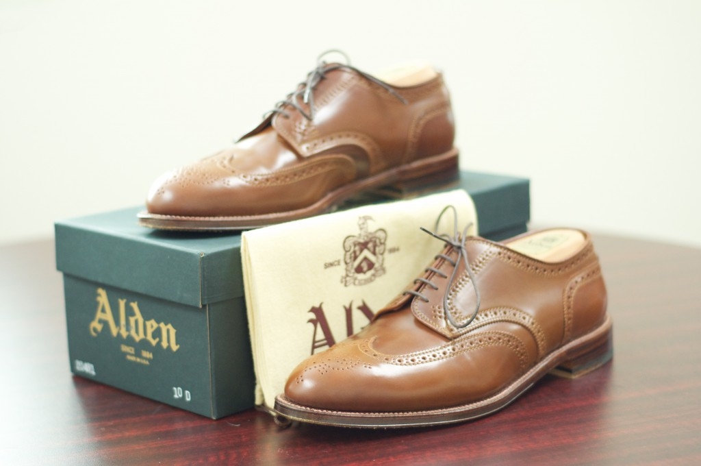 Alden Whiskey Shortwing Blucher - For Sale - 10