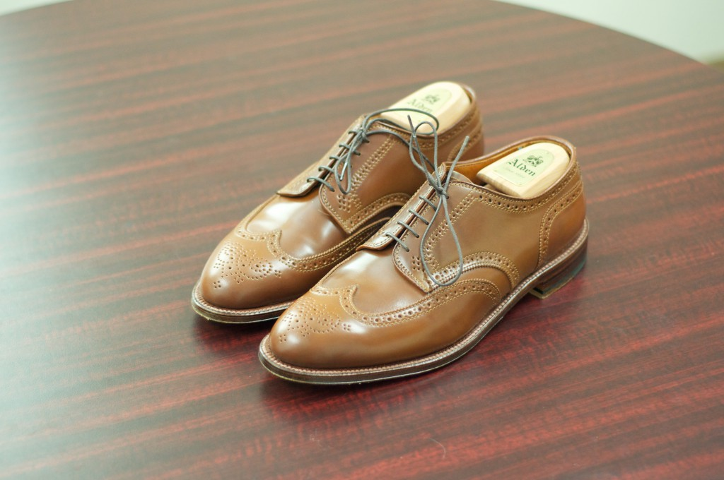 Alden Whiskey Shortwing Blucher - For Sale - 2