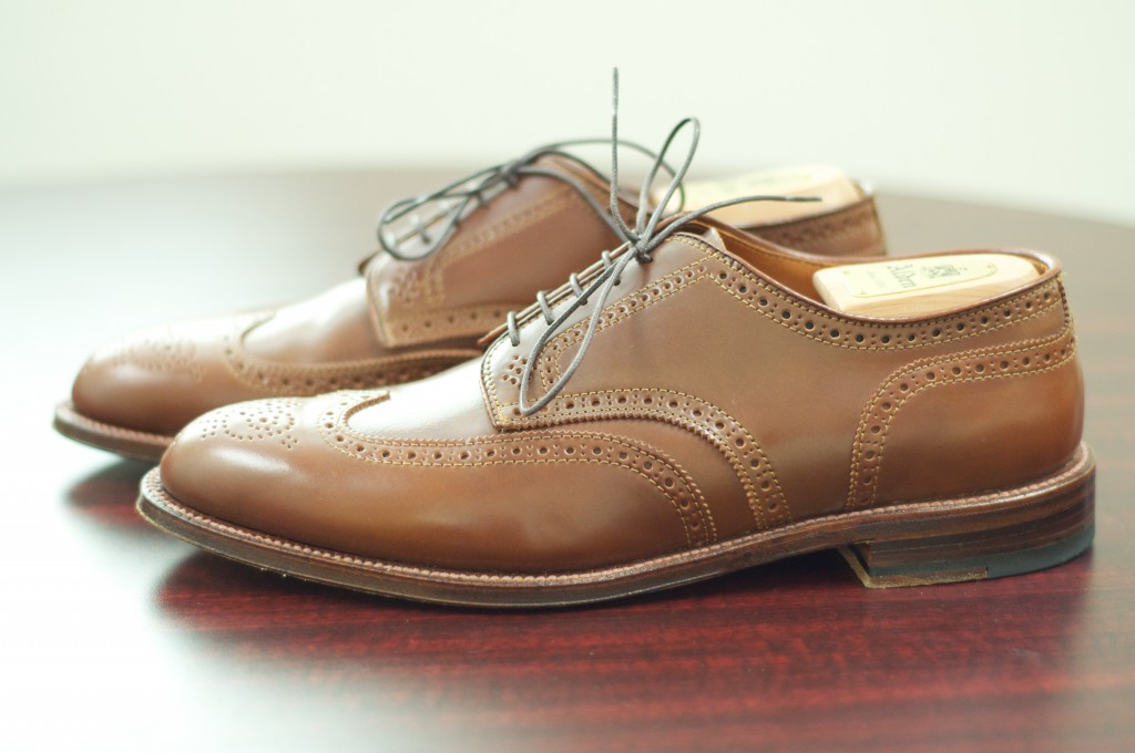 Alden Whiskey Shortwing Blucher - For Sale - 3
