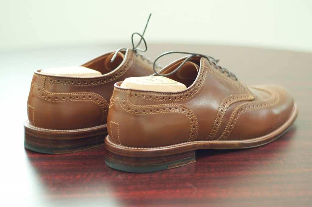 Alden Whiskey Shortwing Blucher - For Sale - 5