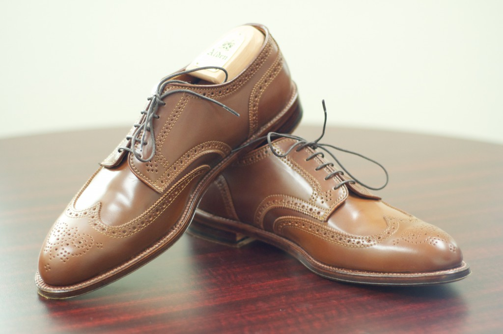 Alden Whiskey Shortwing Blucher - For Sale - 6
