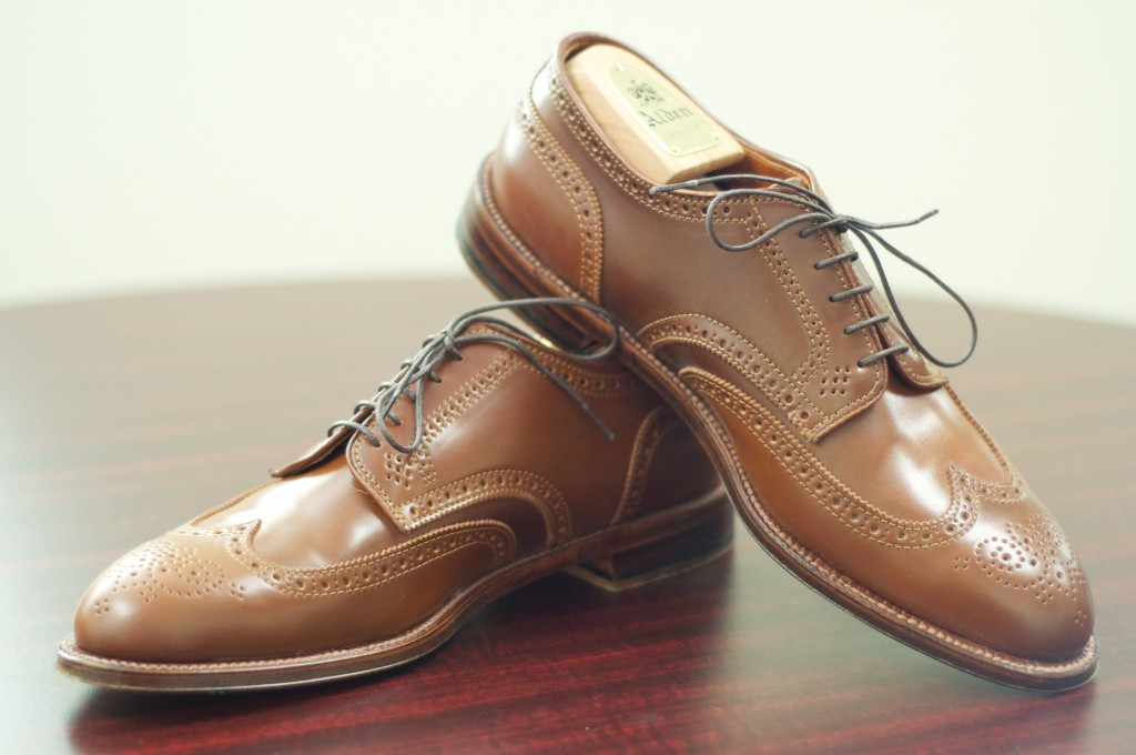 Alden Whiskey Shortwing Blucher - For Sale - 7