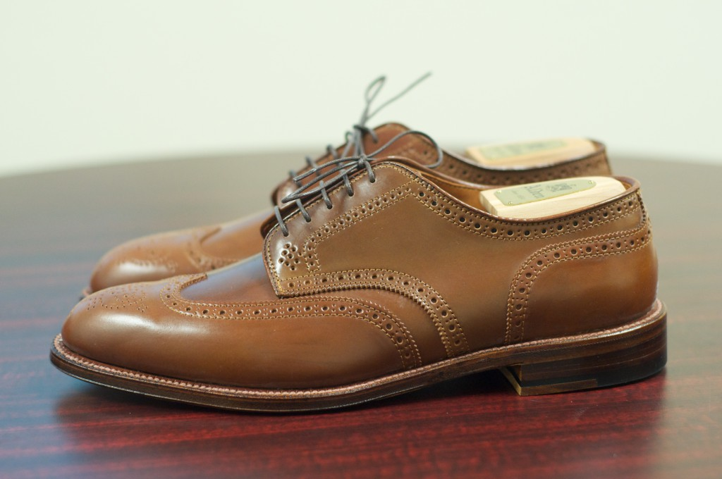 Alden Whiskey Shortwing Blucher - 2