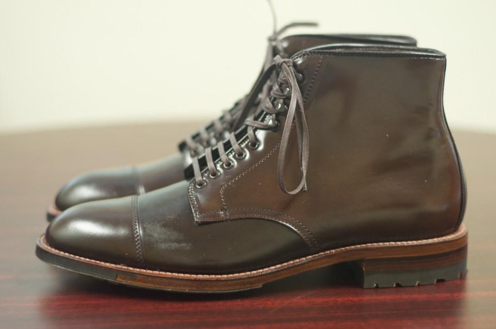 Alden Cigar Cap Toe Boot 4