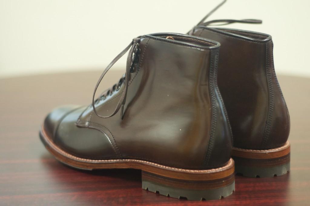 Alden Cigar Cap Toe Boot 5
