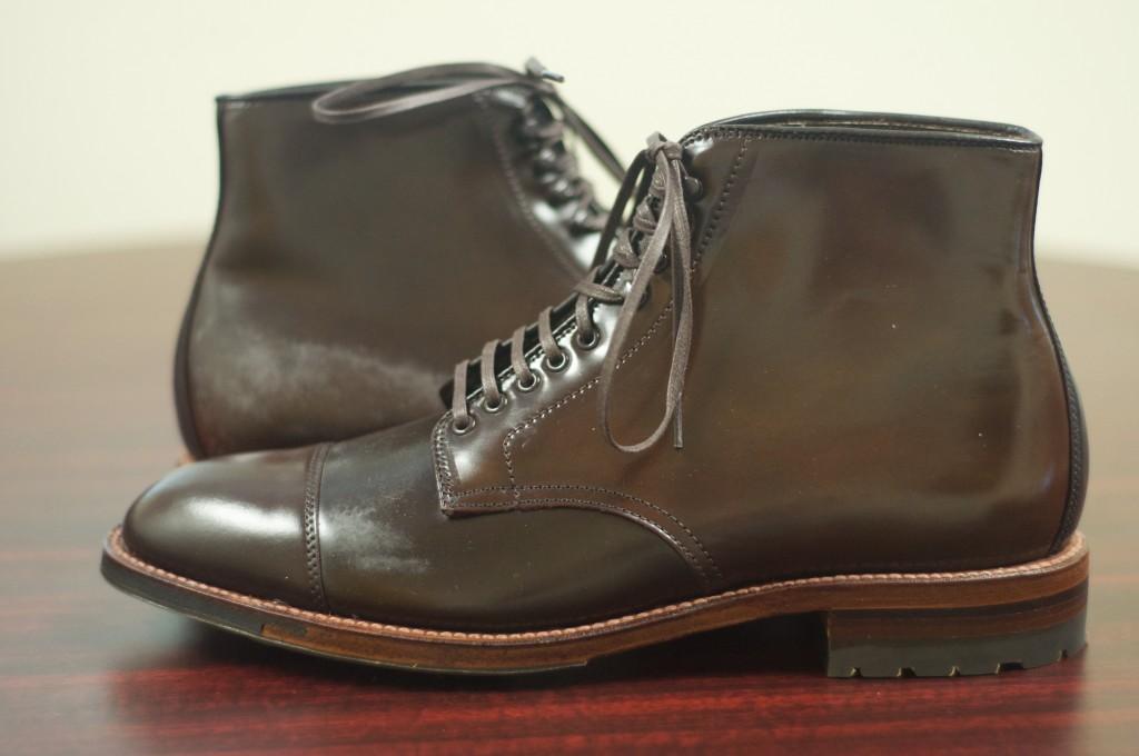 Alden Cigar Cap Toe Boot 6