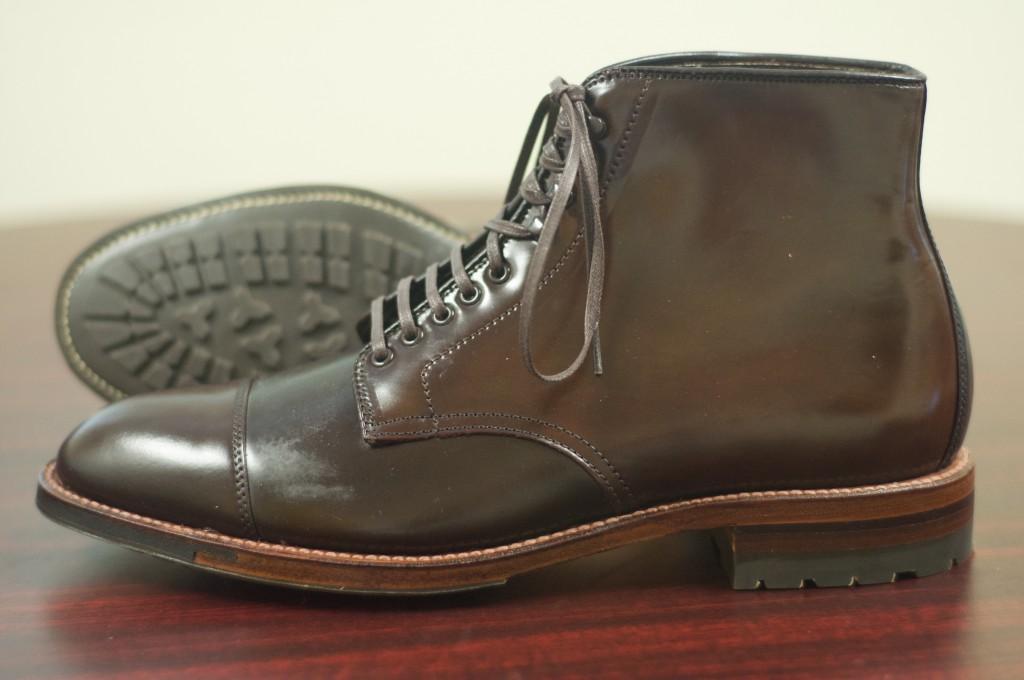 Alden Cigar Cap Toe Boot 7