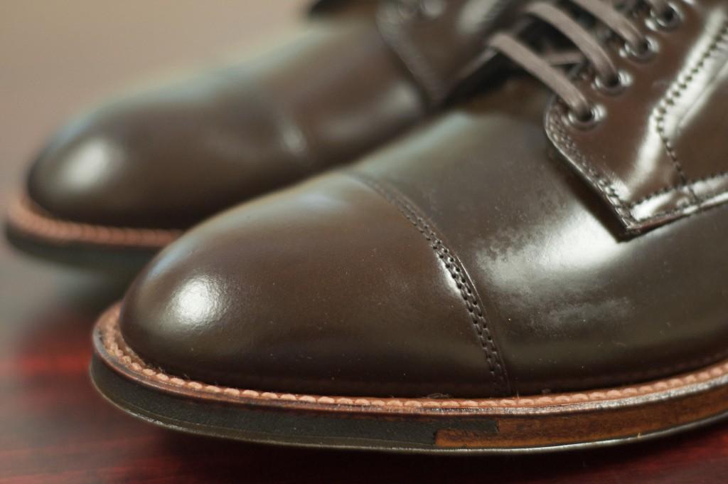 Alden Cigar Cap Toe Boot 8