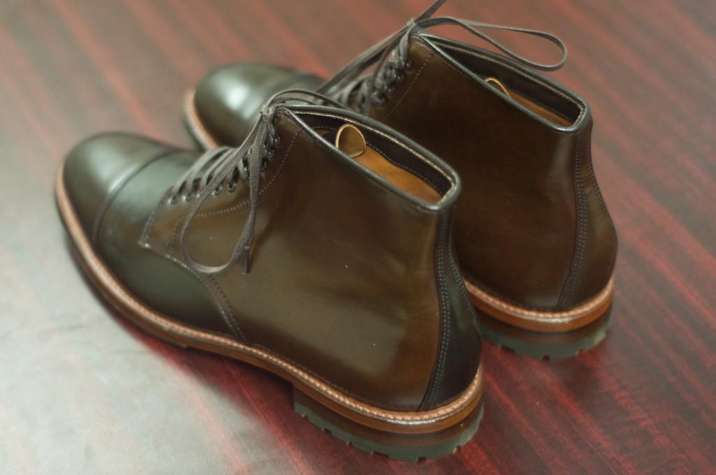 Alden Cigar Cap Toe Boot 9