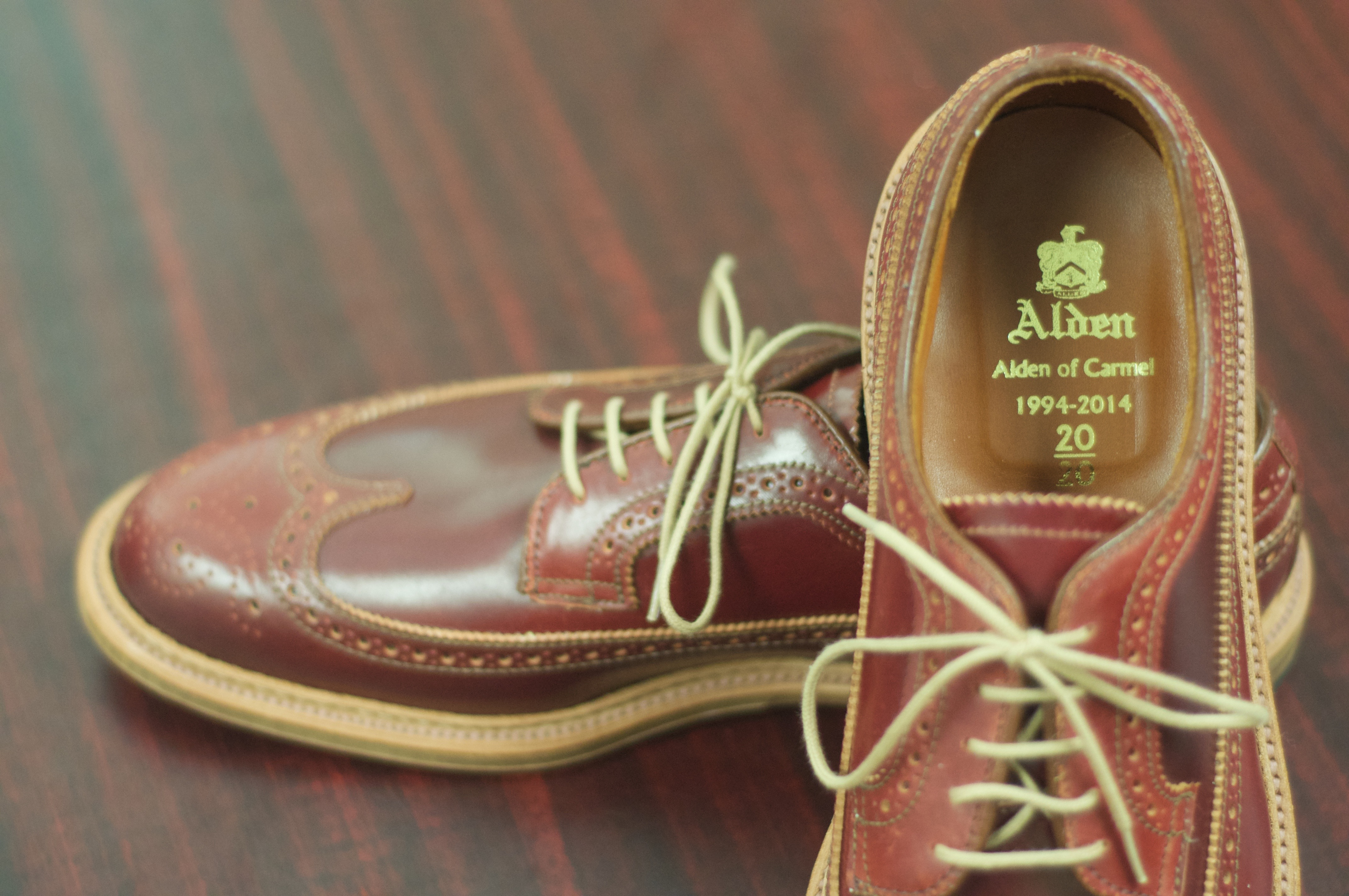 Alden Shoes Logo