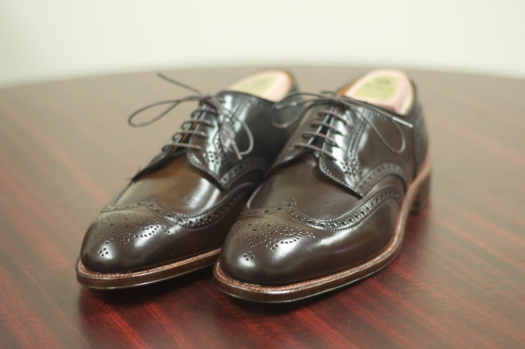 Alden Cigar Shortwing Bluchers 1