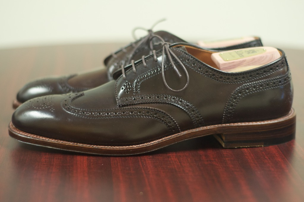 Alden Cigar Shortwing Bluchers 3