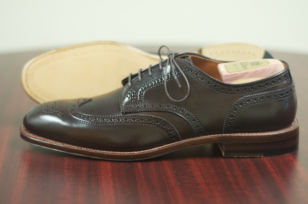 Alden Cigar Shortwing Bluchers 5