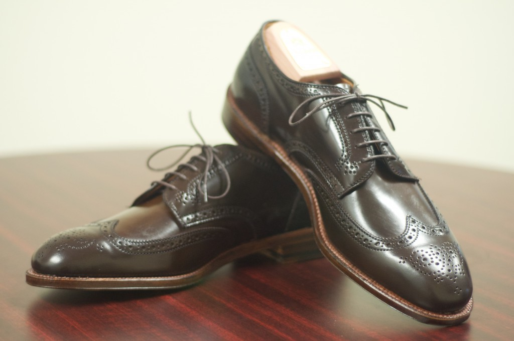Alden Cigar Shortwing Bluchers 8