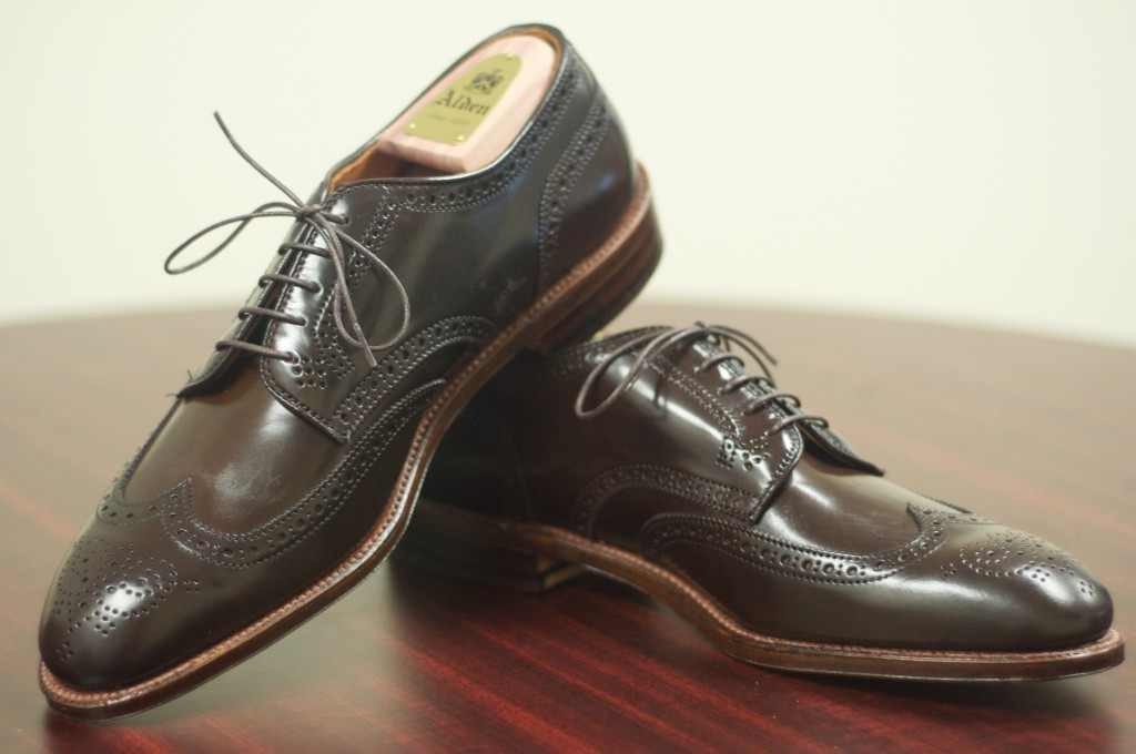 Alden Cigar Shortwing Bluchers 9