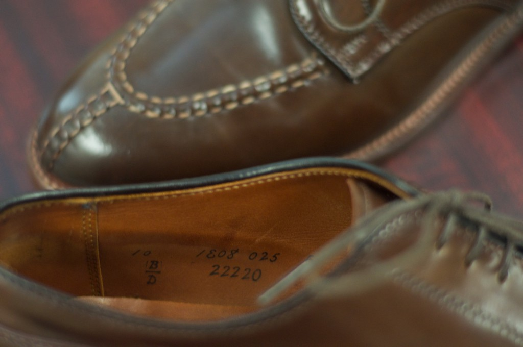 Alden Cigar NST Blucher - For Sale - 10
