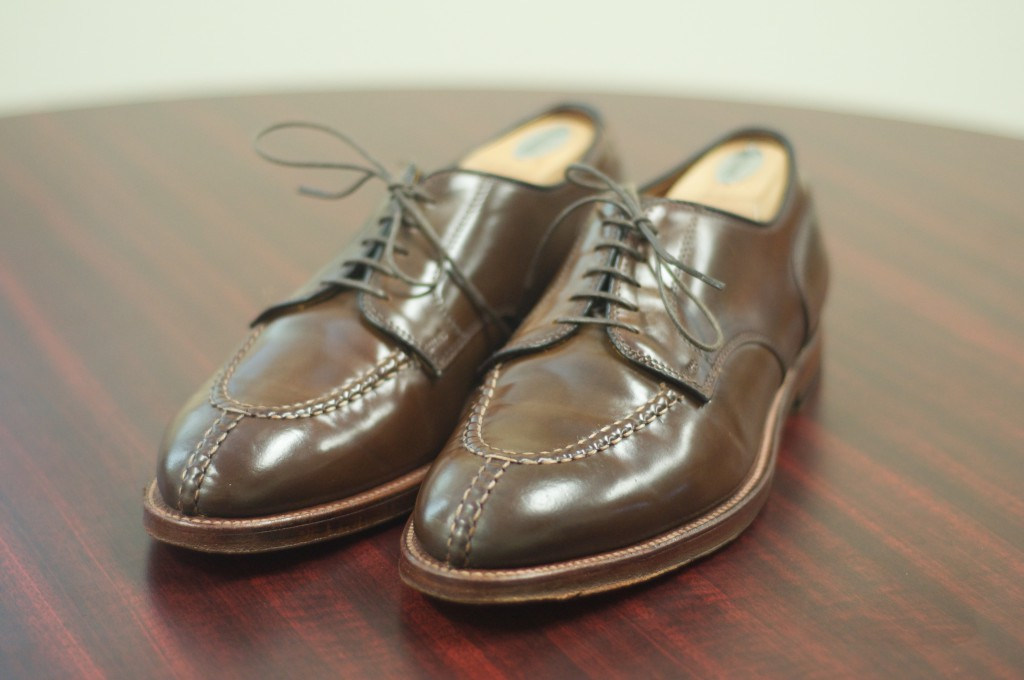 Alden Cigar NST Blucher - For Sale - 2