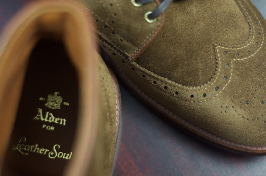 Alden Snuff Suede WT Boots - For Sale - 10