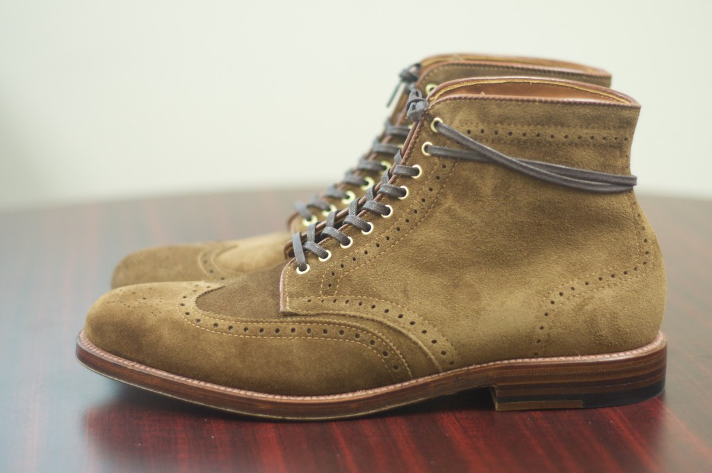 Alden Snuff Suede WT Boots - For Sale - 2