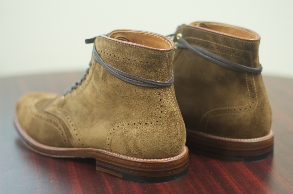 Alden Snuff Suede WT Boots - For Sale - 3