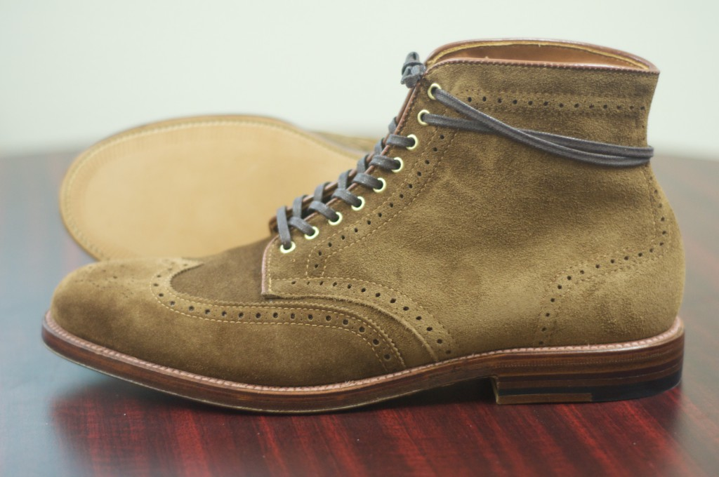 Alden Snuff Suede WT Boots - For Sale - 5