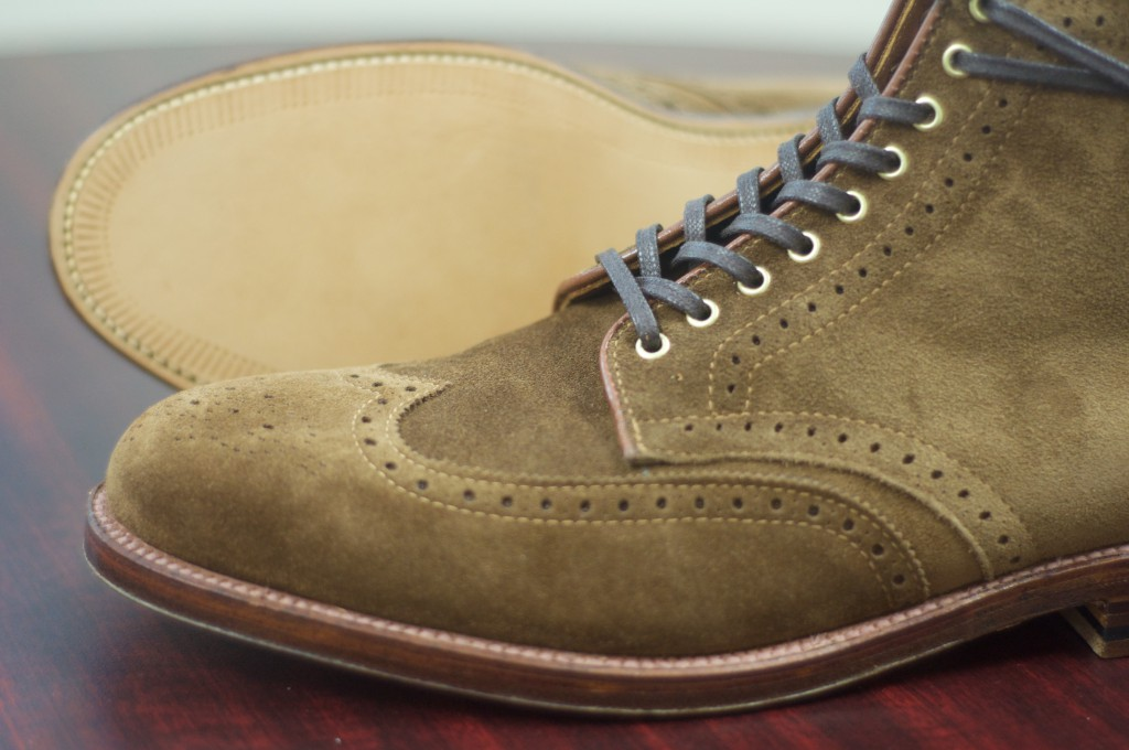 Alden Snuff Suede WT Boots - For Sale - 6