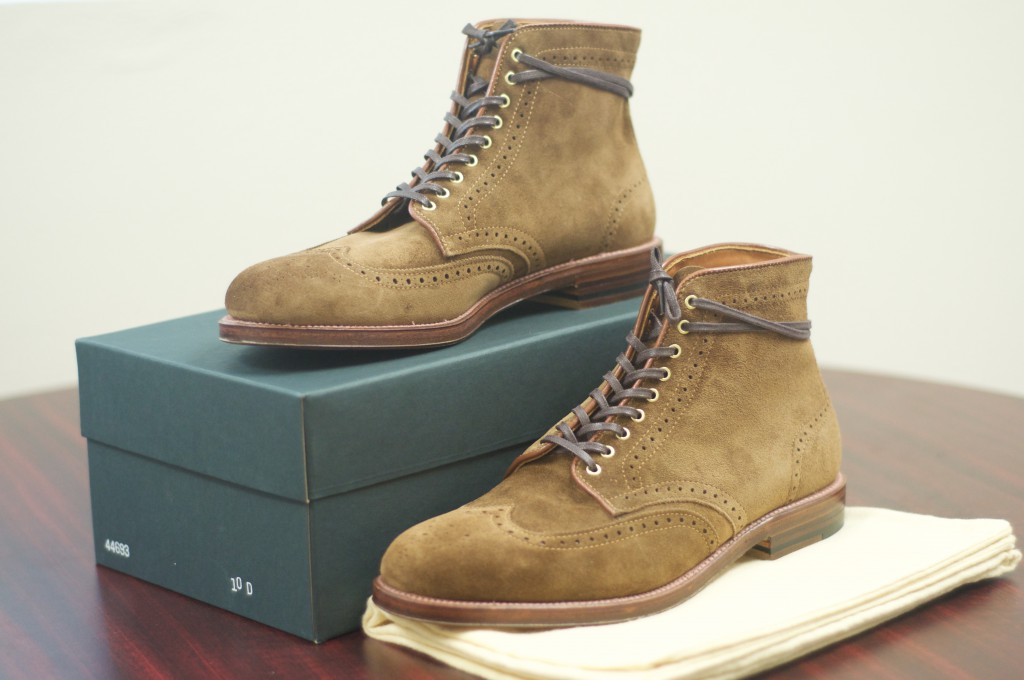 Alden Snuff Suede WT Boots - For Sale - 9
