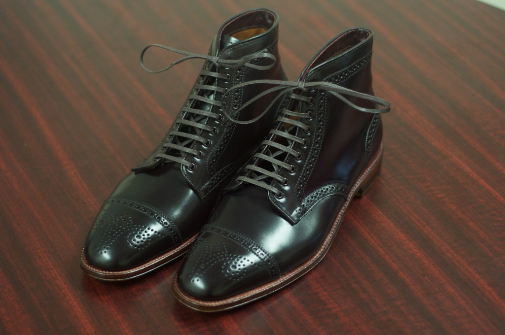 Alden Color 8 Semi-Brogue Boot - 2