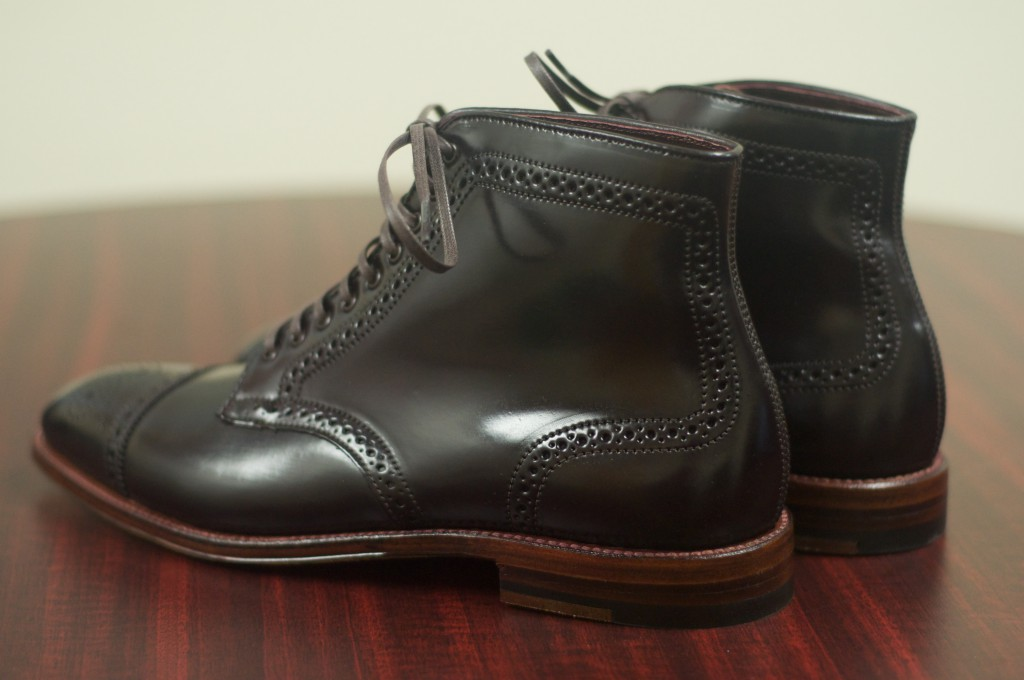 Alden Color 8 Semi-Brogue Boot - 4