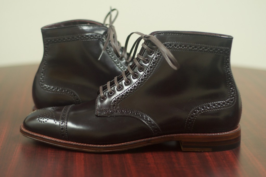 Alden Color 8 Semi-Brogue Boot - 6