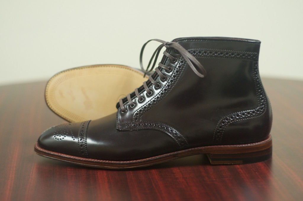 Alden Color 8 Semi-Brogue Boot - 8