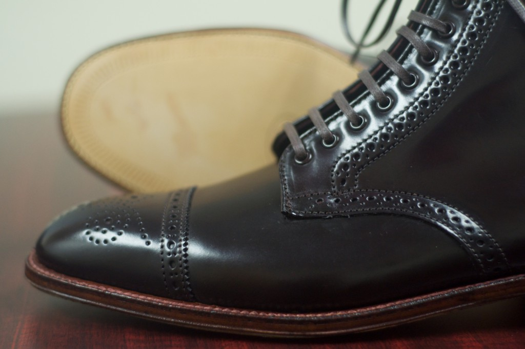 Alden Color 8 Semi-Brogue Boot - 9