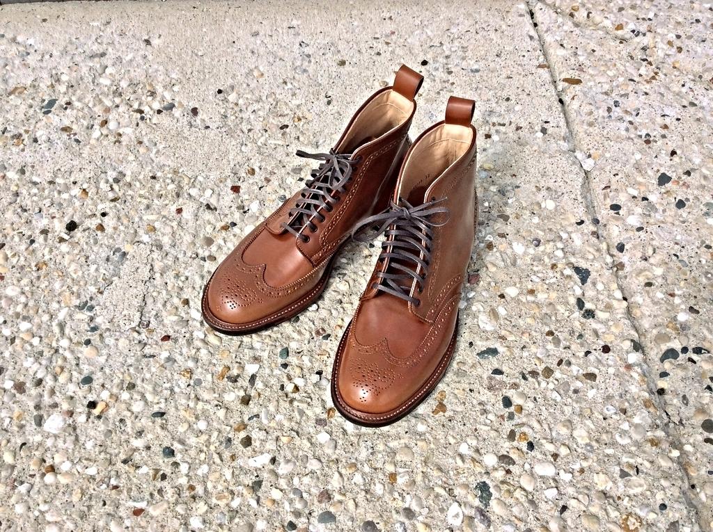 SOLD: Alden Whiskey Shell Cordovan Wingtip Boot – 10E ...