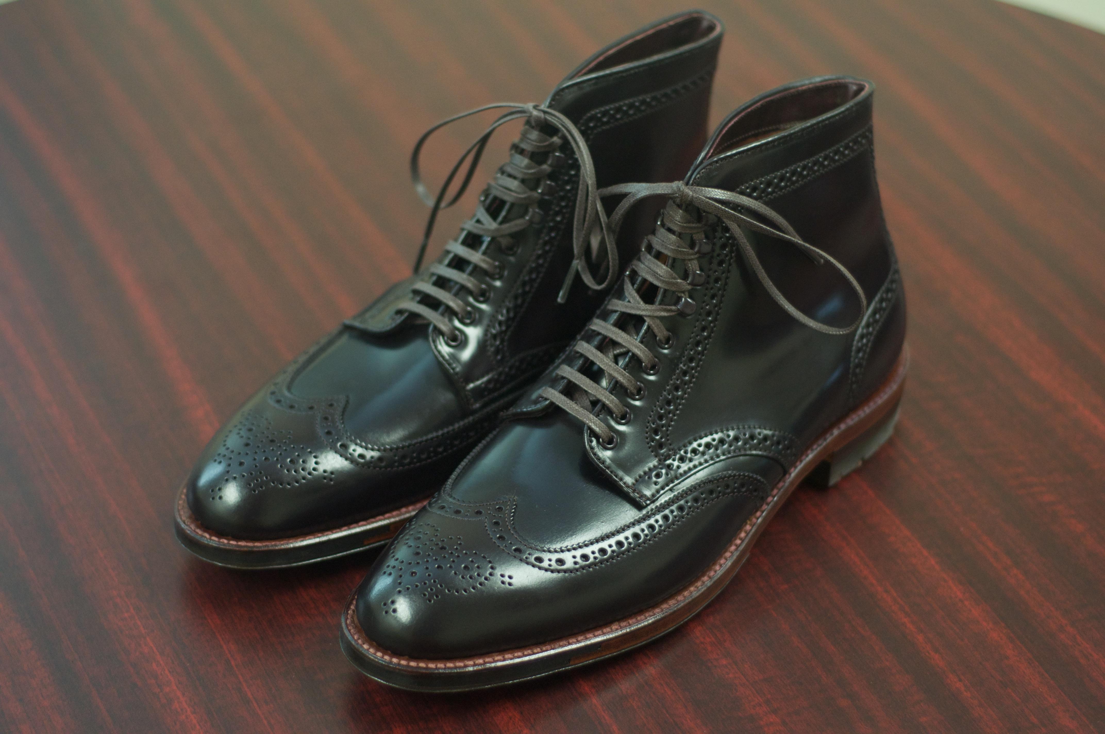 Alden Color 8 Grant Wingtip Boots Alden Of San Diego